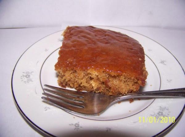 Gingerbread With Lemon Sauce Recipe