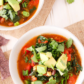 Freezer-Friendly Taco Soup.