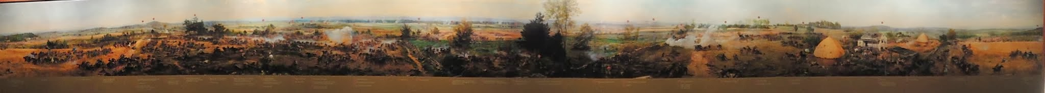 Photo: Gettysburg Visitor Center - Cyclorama - Panorama of the Gettysburg Battlefield