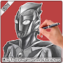 How To Draw Ultraman Characters APK icon