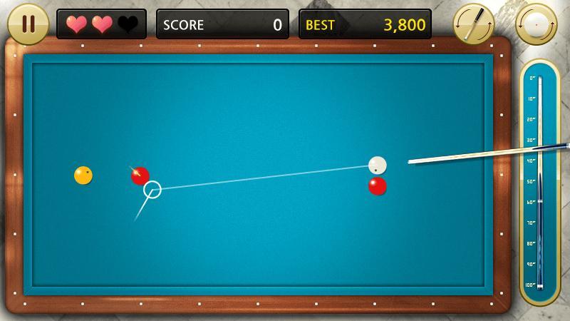 Скриншот Бильярд 3 шаровые 4 шара