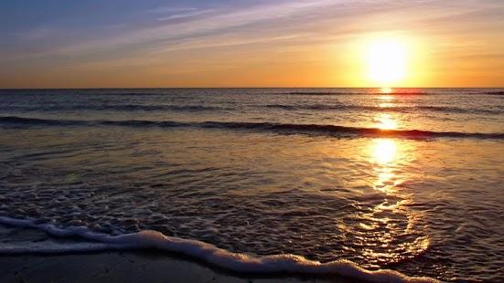 Sunset Beach Wallpaper - náhled