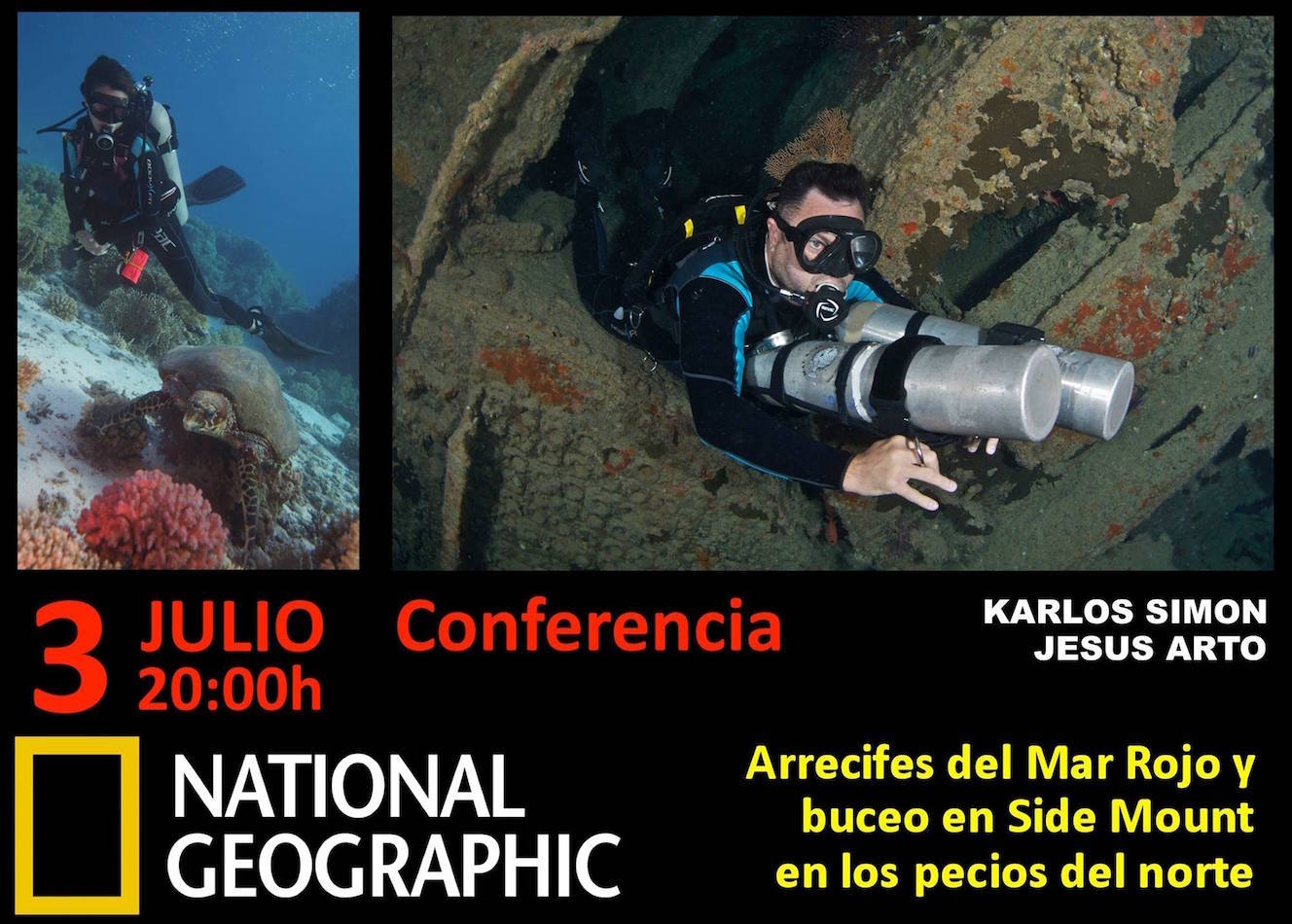 CONFERENCIA EN NATIONAL GEOGRAPHIC