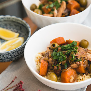 Slow Cooker Moroccan Chicken & Olive Tagine Recipe