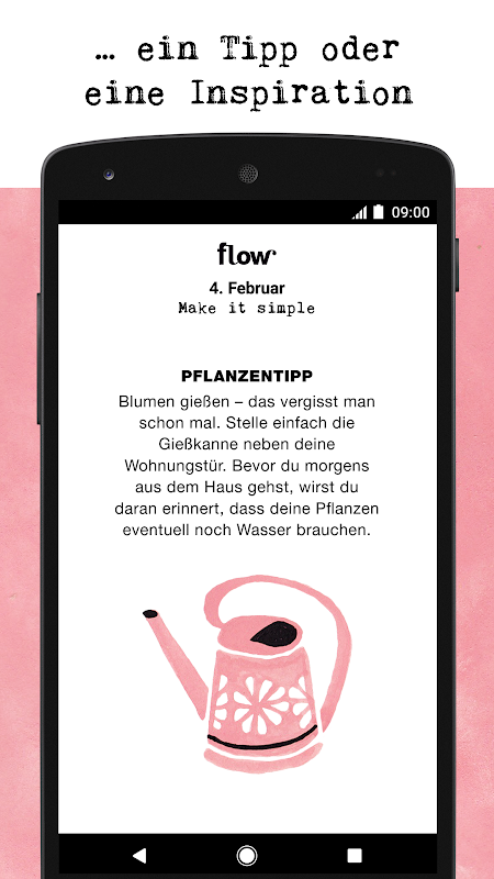 Download flow Kalender 2018 - Zitate und Inspiration MOD APK 1.0 ...