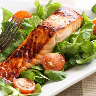 Grilled Salmon with Honey Glaze Recipe