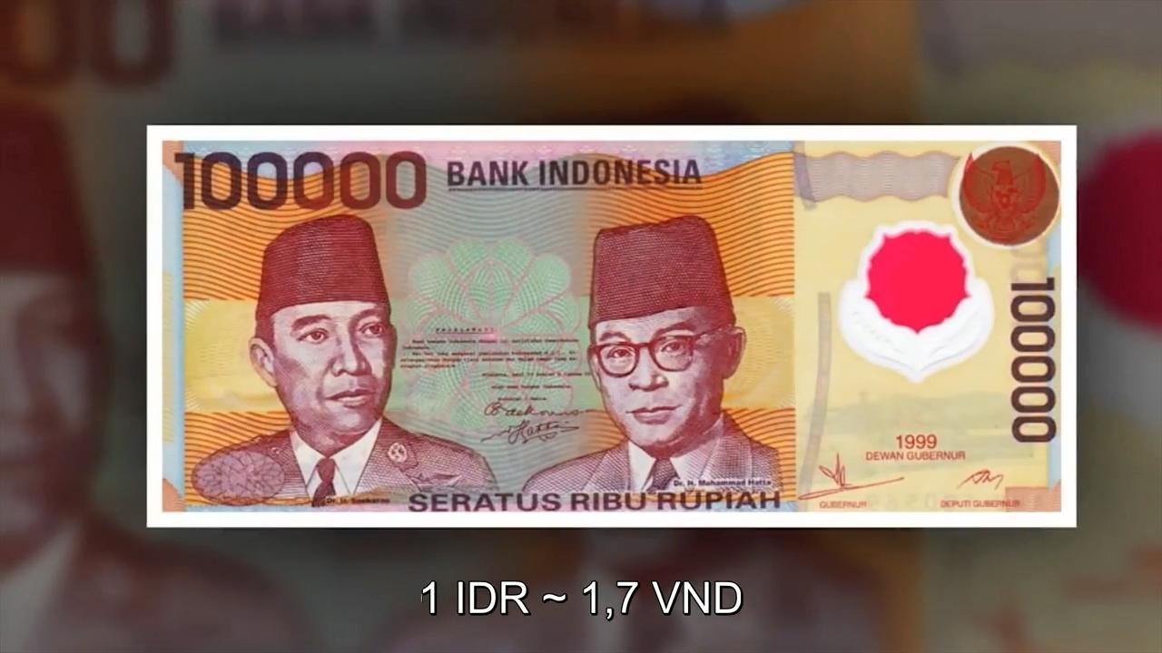 Đồng Rupiah của Indonesia đặc biệt ở cách thiết kế chân dung của những  người anh hùng nổi tiếng tại đất nước này. Màu sắc sử dụng trang nhã và độc  đáo ...