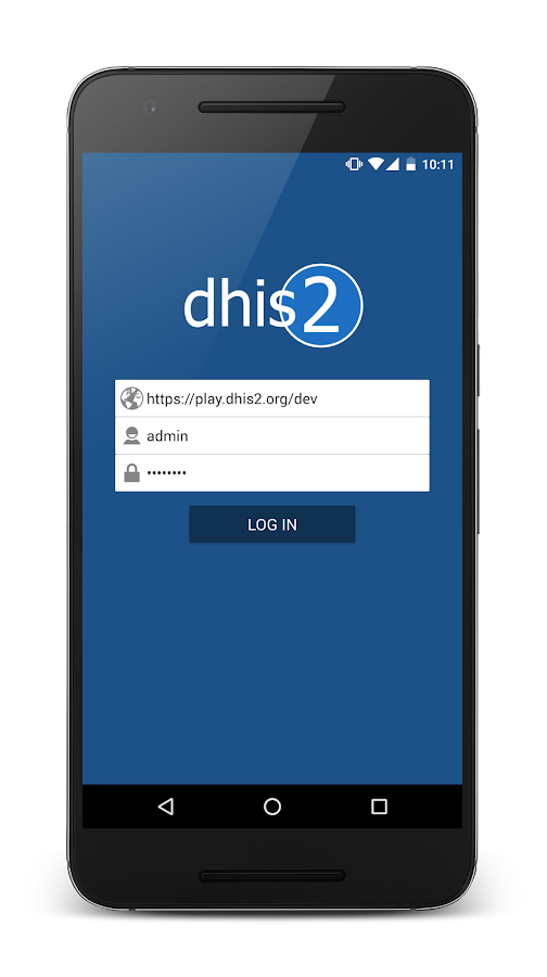 Data Capture for DHIS 2- screenshot