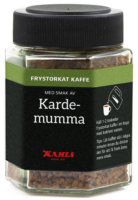 Frystorkat kaffe med kardemumma – Kahls