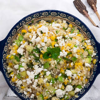 Corn and Zucchini Couscous Salad.