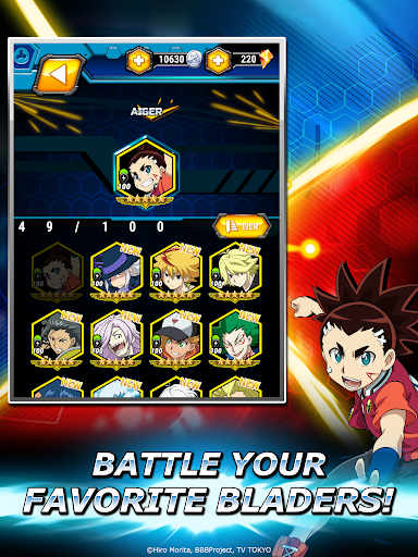 Beyblade Burst Rivals 2.4.1 screenshots 15
