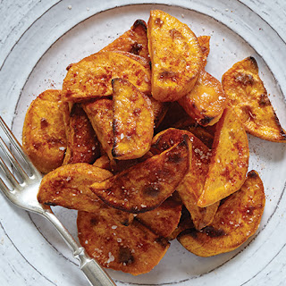 Spiced-Salt Sweet Potatoes.