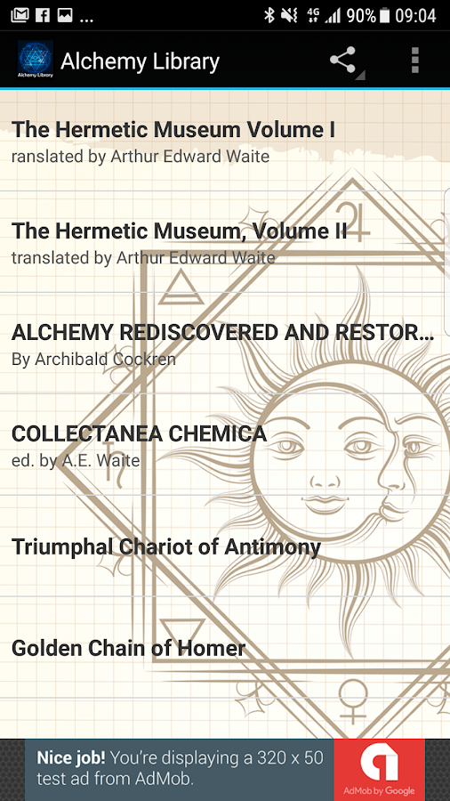 Alchemy Library- screenshot