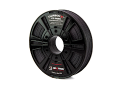 3DXTECH CarbonX Black Carbon Fiber PEEK Filament - (0.5kg) 1.75mm