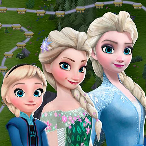 Disney Frozen Free Fall - Play Frozen Puzzle Games (Mod) 9.6.1 mod