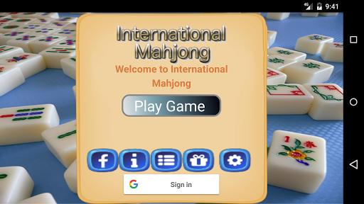 International style mahjong