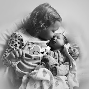 Sisters by Rhonda Lee - Babies & Children Children Candids (  )