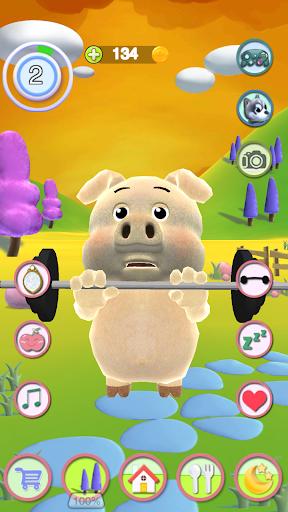 Talking Piggy apktram screenshots 3
