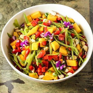 Delicious & Satisfying Sweet and Savory Salad [Earth-day Recipe!].