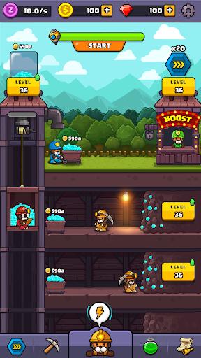 Popo's Mine - Idle Tycoon Game screenshots 2