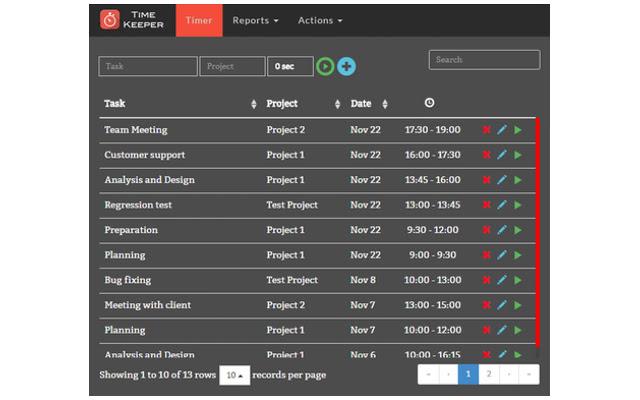 Task tracker | Task timer