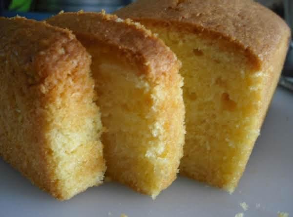 Elvis Presley's Pound Cake Recipe