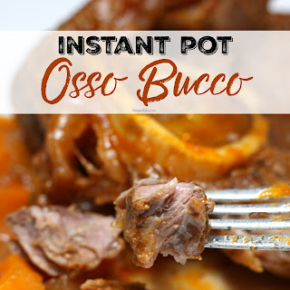 Instant Pot Braised Beef Osso Bucco