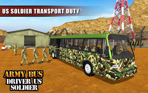 Army Bus Driver 2020: Real Military Bus Simulator apktram screenshots 13