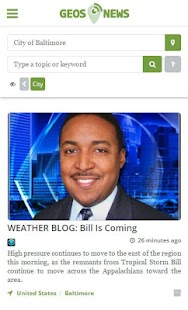GeosNews - Local US News- screenshot thumbnail