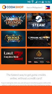 Codashop recharge game credits apk download app screenshots stopboris Images