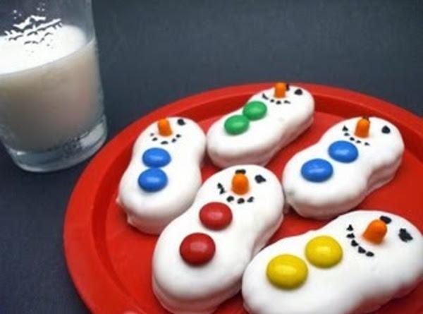 Snowman Cookies - Dee Dee's Recipe