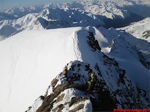 Photo: IMG_2384 Marco e Riccardo sulla cresta finale