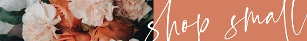 Shop Small Floral - Etsy Shop Mini Banner Template