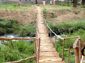 Photo: Lilongwe - wooden bridge