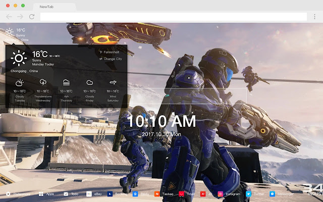 Game Collection New Tab HD Popular Themes
