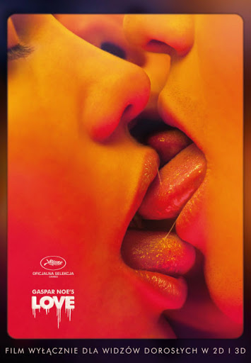 Polski plakat filmu 'Love'