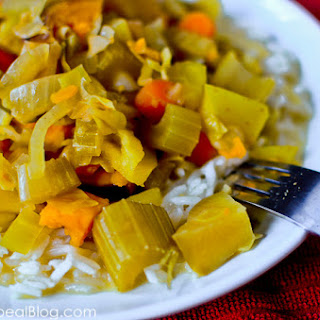 Sweet & Spicy Veggie Curry for Crock Pot