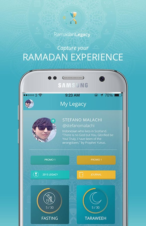 Ramadan Legacy- screenshot