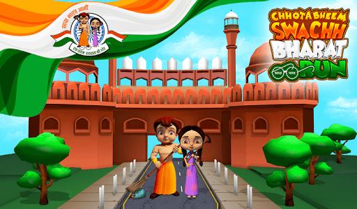 Chhota Bheem - Swachh Bharat Run 2.0.6 screenshots 1
