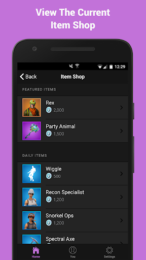 Companion for Fortnite 1.2.4 screenshots 4