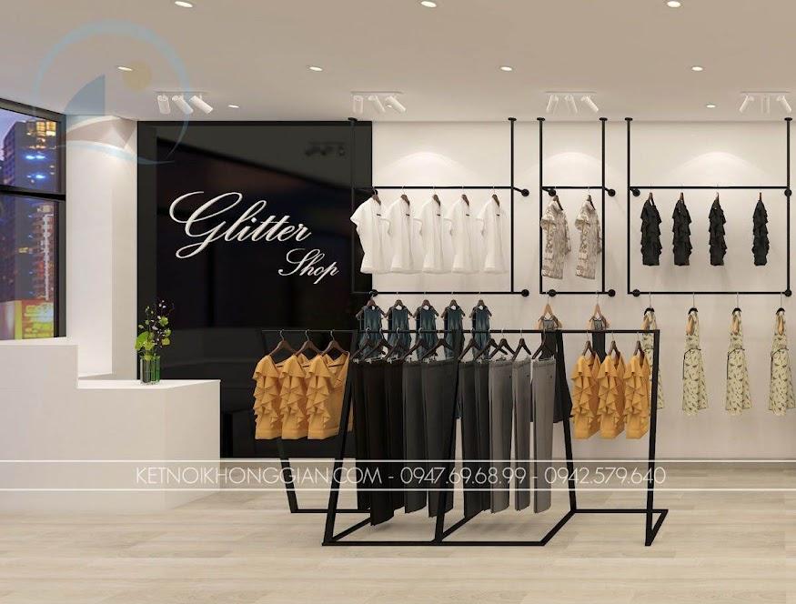 thiết kế shop thời trang nữ giá thành rẻ Glitter 1