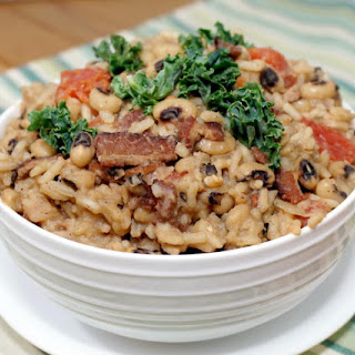 Hoppin' John (South Carolina Black Eyed Peas and Bacon)