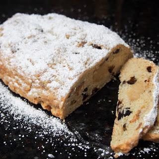 Dried plum stollen (German Christmas cake) #FoodieExtravaganza