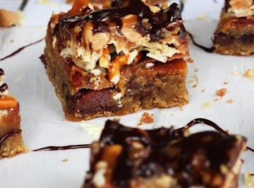 Bacon, Beer And Potato Chip Cookie Bars Recipe