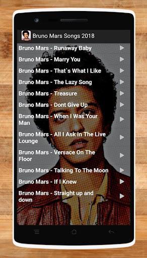 Bruno Mars Songs 2018