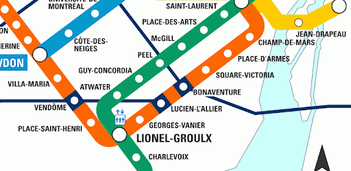 Montrela Subway Map.Montreal Subway Map Apps On Google Play