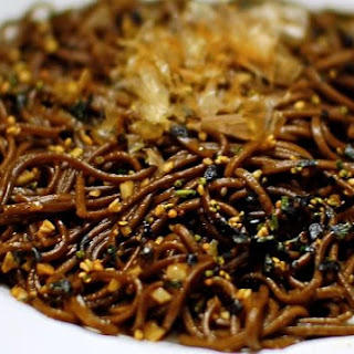 Soba Garlic Noodles