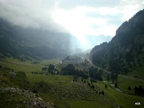 Photo: Presagio de lluvias entrando al valle.