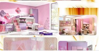 Girls bedroom design - screenshot thumbnail 04
