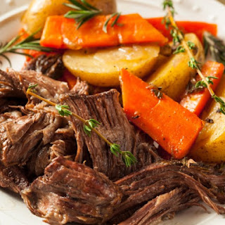Slow Cooker Waterless Pot Roast
